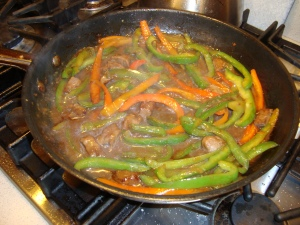 Peppers with Beef