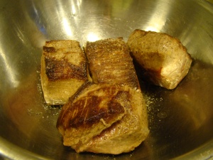 Browned Meat