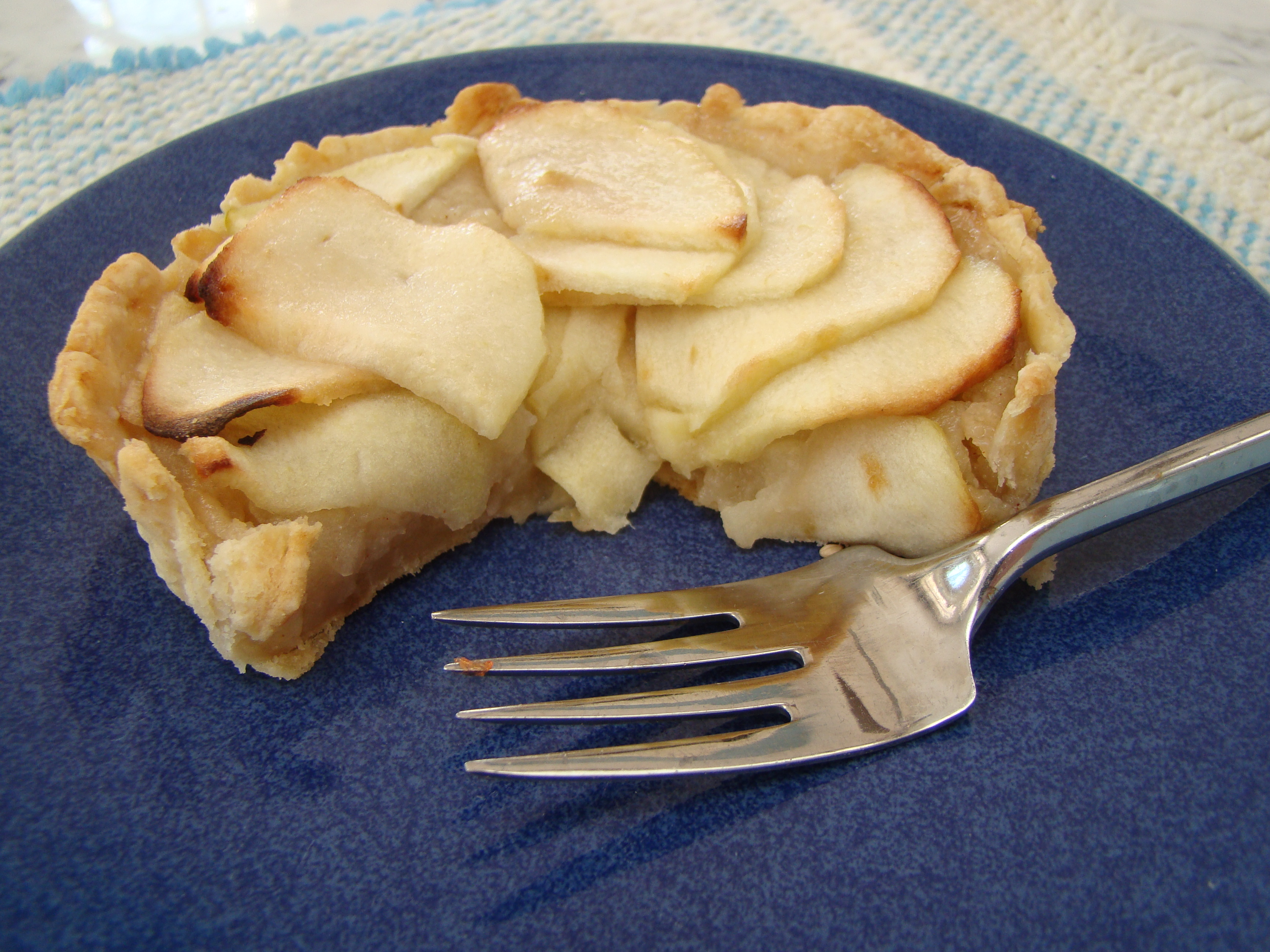 Dorie baking with julie french apple tart a plateful of happiness