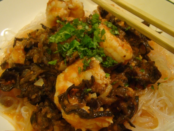 shrimp and cellophane noodles