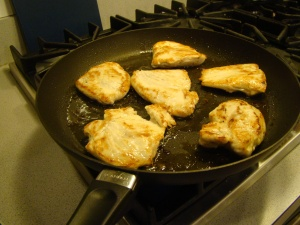 Golden Chicken Breasts