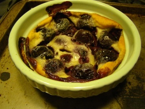 Mini Cherry Clafouti