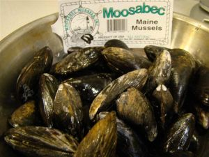 Mussels from Maine