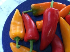 Plate of Peppers