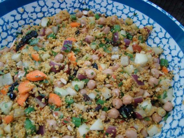 Moroccan Couscous Salad
