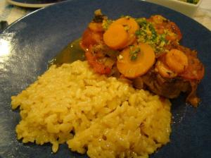 Osso Buco with Risotto