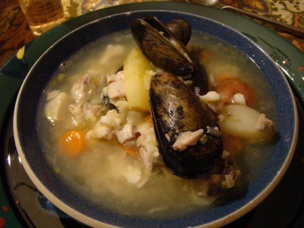 Simplest Breton Fish Soup