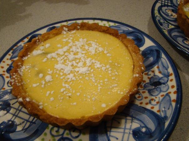 cheesecake tartlet