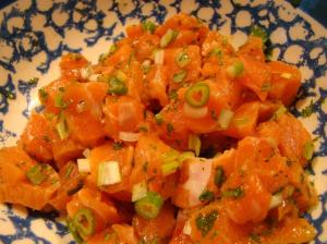 Salmon Mixture